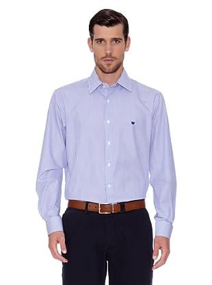 Caramelo Camisa Philippe (Azul)