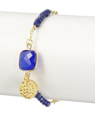 Ashiana London Sodalite & Blue Chalcedony Friendship Bracelet
