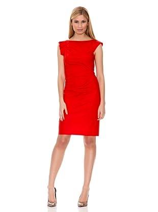 Hugo Boss Vestido Daperla (Rojo)