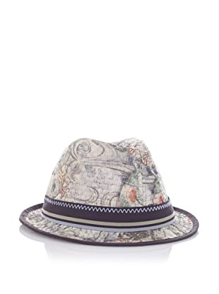 Robert Graham Men's Campos Fedora (Grey)