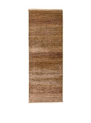 RugSense Alfombra Grass Marrón/Beige 180 x 68 cm