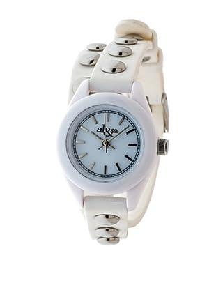 al&co Reloj Double Strap Blanco