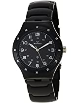 Maxima Attivo Analog Black Dial men's Watch - 23799CMGB