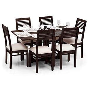 Urban Ladder Danton-Zella Folding Dining Table Set
