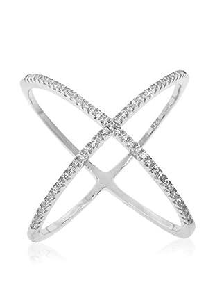 Diamonere Pavé Cage Ring, Silver