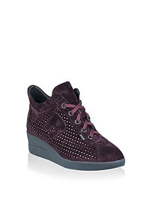 Ruco Line Sneaker Zeppa 200 Strass Sonia