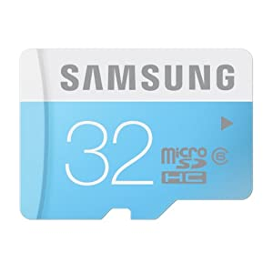Samsung 32GB Class 6  Micro SDHC up to 24MB/s with Adapter (MB-MS32DA/AM)