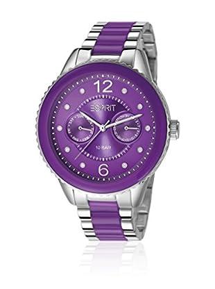 Esprit Quarzuhr Es106202006 violett 40  mm