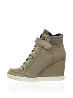 Buffalo London Keil-Sneaker (Beige)
