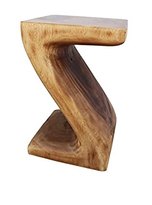 Asian Art Imports Z Stool, Natural