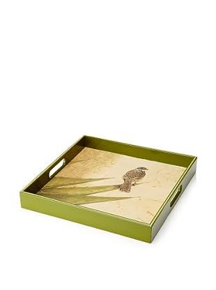 rockflowerpaper Serving Tray (Cactus Wren)