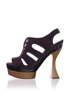 MARNI Women's Platform Sandal (Aubergine)
