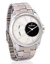Dezine Wrist Watch for Men - White_DZ-GR156-WHT-CH