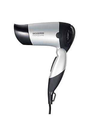 Severin 0154 - Secador de pelo de viaje (1000 W), color negro/morado