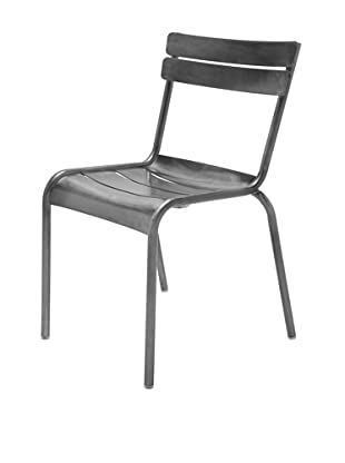 Industrial Chic Marcel Chair, Gunmetal