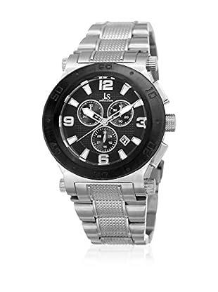 Joshua & Sons Reloj de cuarzo Man JX104SSB 45 mm