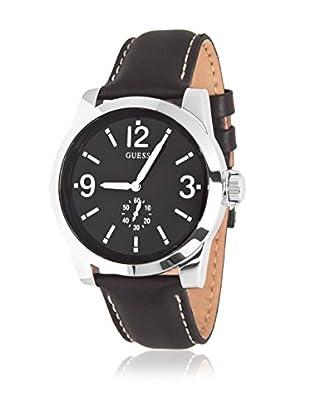 GUESS Reloj de cuarzo Man W10248G1 Plateado / Negro