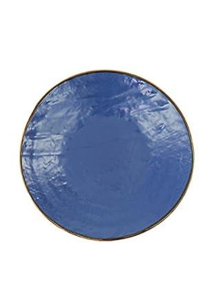 Novità Home Set Plato De Fruta 4 Piezas Color Azul