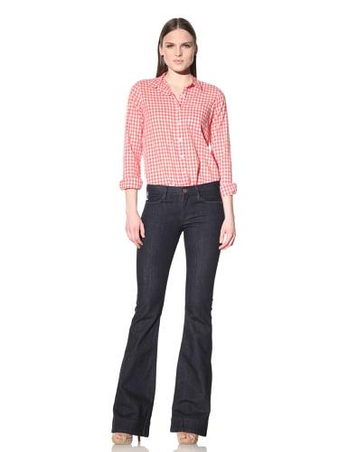 Earnest Sewn Women's Lau Flare Jean (New Rinse)