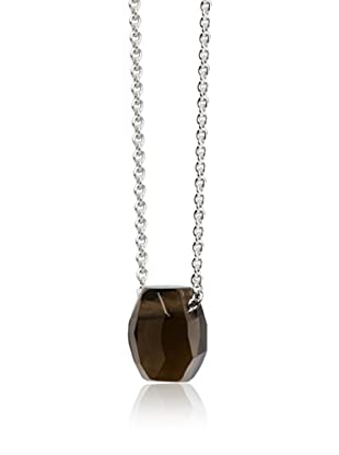 Marc O´Polo Halskette Silber braun