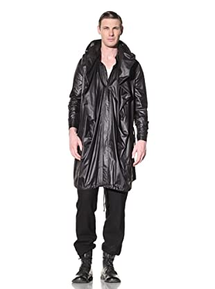Ann Demeulemeester Men's Long Hooded Coat