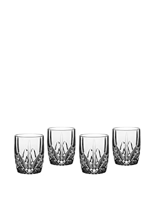 Marquis by Waterford Set of 4 Brookside Double Old-Fashioned Glasses