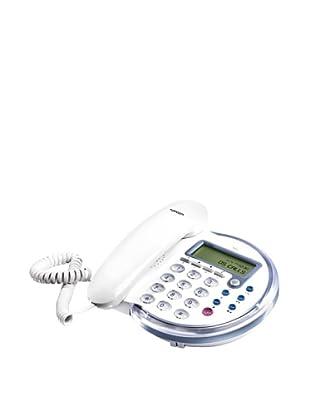 Topcom Teléfono T41 White  Diseño Neón
