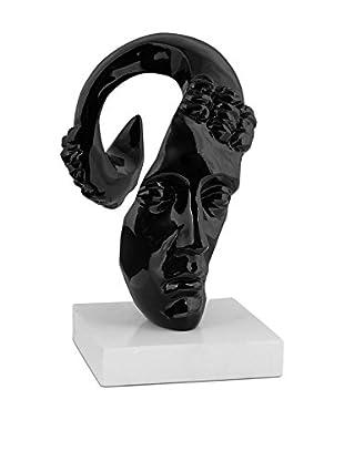 Arte Dal Mondo Escultura Testa Surrealista Piccola