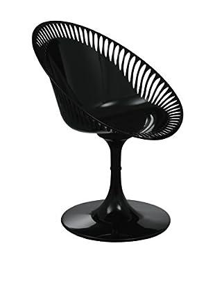 Premier Housewares Stuhl Set, 2-teilig Sendero schwarz