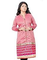 B3Fashion Party wear Silk blended Cotton Kurti