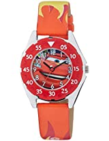 Disney Cars Analogue Watch - Red & Yellow (AW100224)