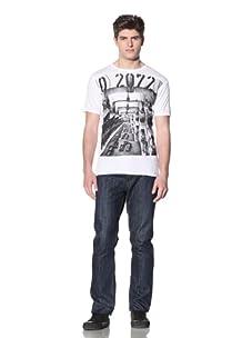 MG Black Label Men's Mayfair T-Shirt (White)