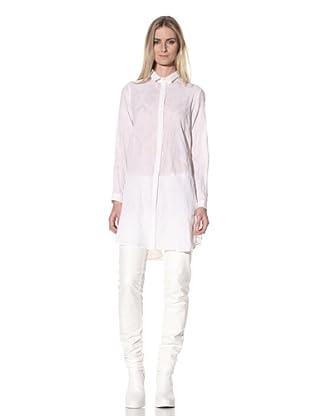 Ann Demeulemeester Women's Textured Tunic (Off-White)