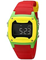 Freestyle Freestyle Unisex 101807 Shark Classic Digital Yellow Green Case Watch - 101807