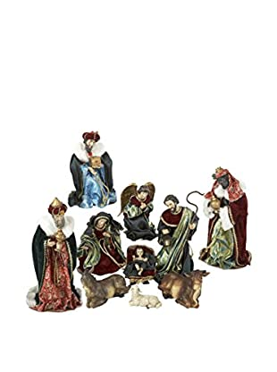Kurt Adler Set of 10 Nativity Figures
