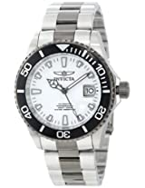Invicta Watches, Men's Pro Diver Automatic White Dial Two Tone Stainless Steel, Model 10498