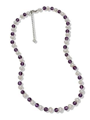 Nova Pearls Copenhagen Collana Perle Acqua Dolce 6 - 7 mm