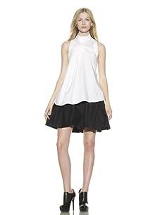 Preen Line Women's Girl Poplin Shirt (White)