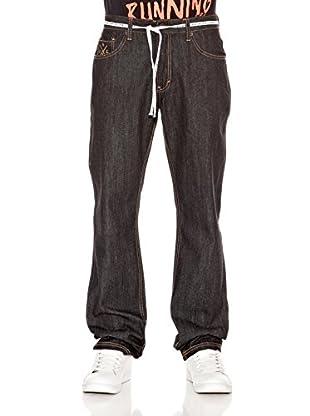Grimey Wear Pantalón Denim Classic (Negro)