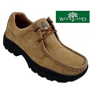 Woodland Men's Casual Shoe 4035-Camel