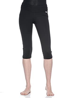 Icebreaker Ib Gt Run Rush Pantalone 3/4 Tight (Nero)