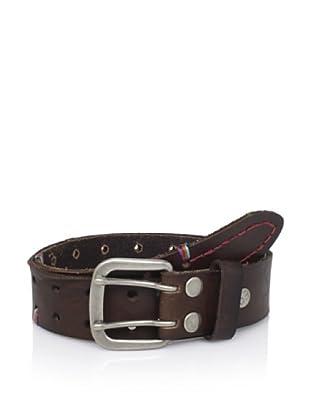 Bed Stu Women's Prittchett Braided Belt (Brown)