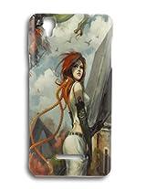BlueArmor Designer Soft Fancy Back Cover Case For Yu Yureka Plus - Design 29