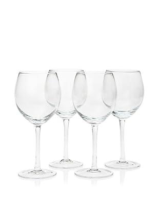 10 Strawberry Street Set of 4 Regina 15-Oz. Red Wine Glasses (Clear)