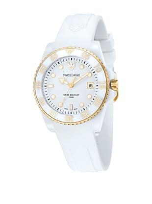 Swiss Eagle Reloj Dive Blanco