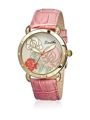 Bertha Uhr mit Japanischem Quarzuhrwerk Josephine rosa 41 mm