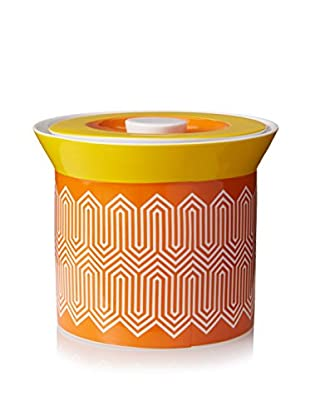 Happy Chic by Jonathan Adler Small Lola Canister, Orange