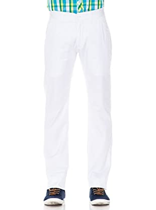 Springfield Pantalón Color (Blanco)