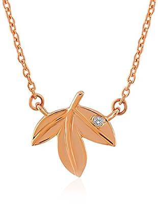 Divas Diamond Collar Diamond Gold Leaf