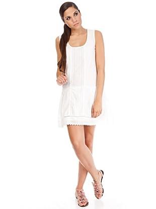 Cortefiel Kleid (Weiß)
